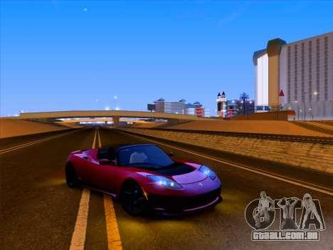 Tesla Roadster Sport 2011 para GTA San Andreas interior