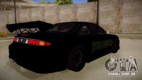 Nissan s14 200sx [WAD]HD para GTA San Andreas vista direita