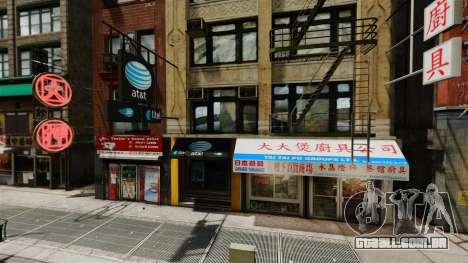 Lojas de Chinatown para GTA 4