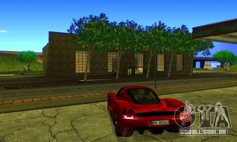 ENBSeries By Avatar para GTA San Andreas por diante tela