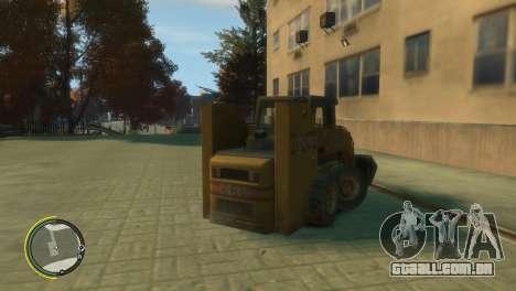 Carregador de BF3 para GTA 4 traseira esquerda vista