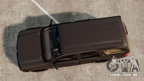 Chevrolet Tahoe Slicktop [ELS] v2 para GTA 4 vista direita