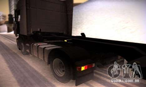 Scania R500 Topline para GTA San Andreas vista traseira