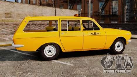 Táxi de Volga GAZ-24-02 para GTA 4 esquerda vista