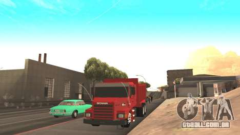 Scania 112HW para GTA San Andreas vista direita