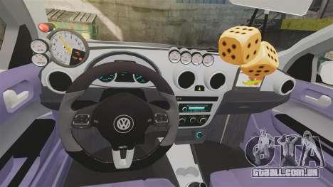 Volkswagen Gol G6 2013 Turbo Socado para GTA 4 vista interior