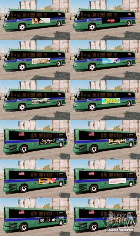 Serviço de New York City para GTA 4 por diante tela