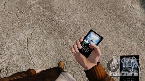 Temas para as redes móveis de marcas de telefone para GTA 4 segundo screenshot