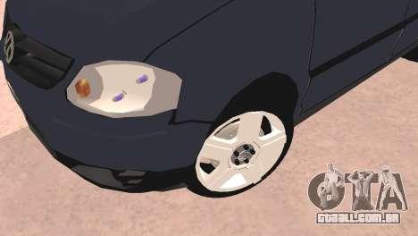 Volkswagen Suran para GTA San Andreas traseira esquerda vista