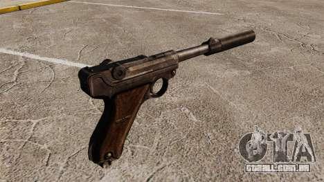 Pistola Parabellum v2 para GTA 4 segundo screenshot