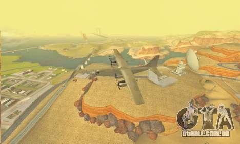 Hercules GTA V para GTA San Andreas vista interior