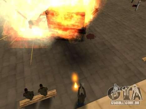 WeaponStyles para GTA San Andreas oitavo tela