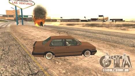 Volkswagen Jetta MK2 para GTA San Andreas esquerda vista