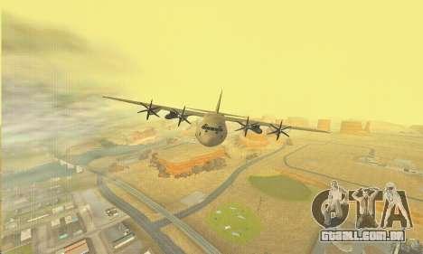Hercules GTA V para GTA San Andreas vista superior