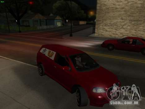 Opel Astra G Caravan Tuning para GTA San Andreas vista direita