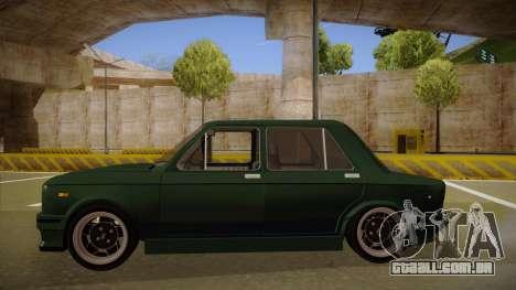 Fiat 128 Europe V Tuned para GTA San Andreas traseira esquerda vista