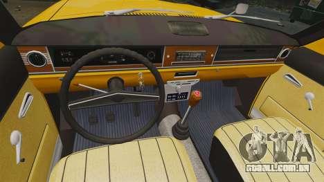 Táxi de Volga GAZ-24-02 para GTA 4 vista de volta
