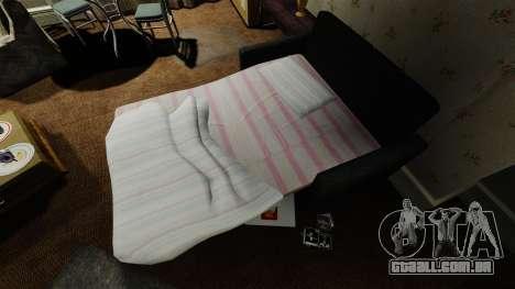 Sofá novo no segundo apartamento para GTA 4
