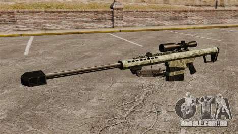 O Barrett M82 sniper rifle v6 para GTA 4 terceira tela