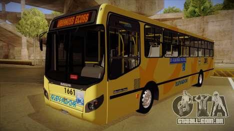 Busscar Urbanuss Ecoss MB OF 1722 M BHBUS para GTA San Andreas
