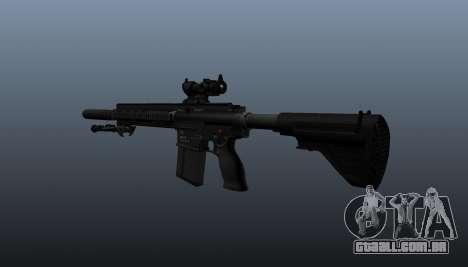 HK417 rifle v1 para GTA 4 segundo screenshot