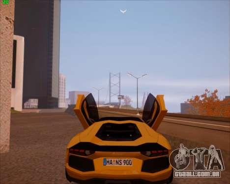 SA Graphics HD v 2.0 para GTA San Andreas quinto tela