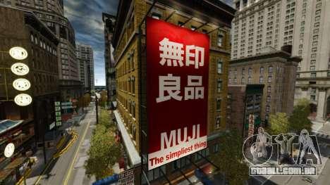 Lojas de Chinatown para GTA 4 sétima tela