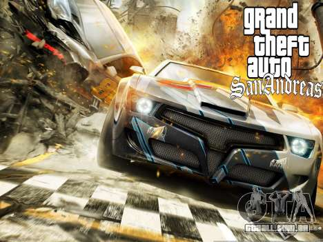 Novas telas de carregamento para GTA San Andreas sexta tela