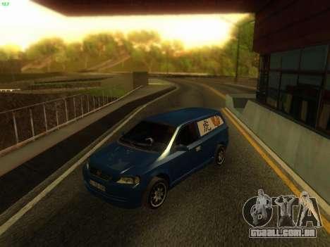 Opel Astra G Caravan Tuning para GTA San Andreas traseira esquerda vista