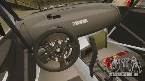 Citroen C4 WRC para GTA 4 vista de volta