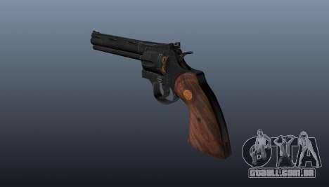 Revólver Colt Python. 357 para GTA 4 segundo screenshot