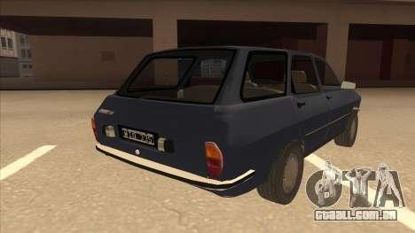 Renault 12 Break para GTA San Andreas vista direita