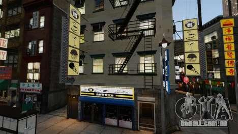 Lojas de Chinatown para GTA 4 quinto tela