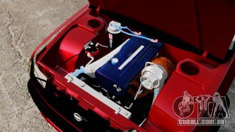 Nissan Frontier D22 para GTA 4 vista interior