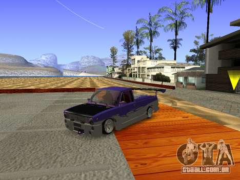 Vaz 2102 divertido DRFT para GTA San Andreas esquerda vista