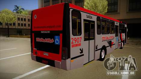Busscar Urbanuss Ecoss MB OF 1722 M Busmania para GTA San Andreas vista direita
