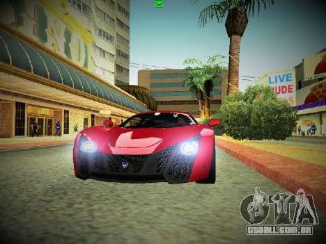 ENBSeries By DjBeast V2 para GTA San Andreas por diante tela