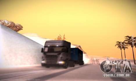 Scania R500 Topline para GTA San Andreas vista inferior
