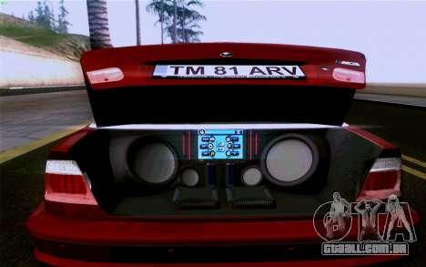 BMW M3 Cabrio para o motor de GTA San Andreas