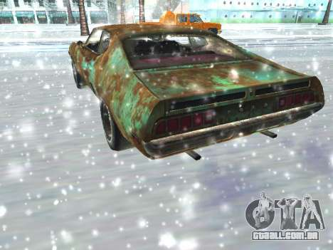 Ford Torino Rusty para GTA San Andreas vista direita
