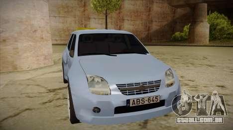 Suzuki Ignis para GTA San Andreas esquerda vista