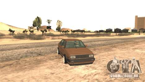 Volkswagen Jetta MK2 para GTA San Andreas vista direita