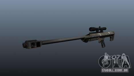 Rifle de sniper Barrett M99 para GTA 4