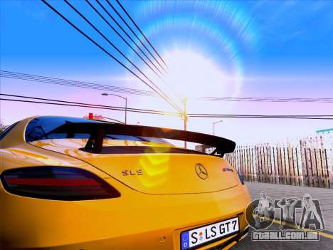 Mercedes-Benz SLS AMG GT 2014 Final Edition para GTA San Andreas vista traseira