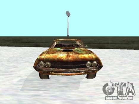 Ford Torino Rusty para GTA San Andreas vista traseira