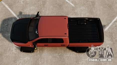Dodge Ram 2500 Lifted Edition 2011 para GTA 4 vista direita