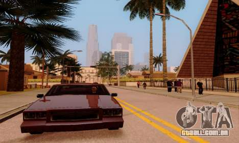 ENBSeries for low and medium PC para GTA San Andreas décimo tela