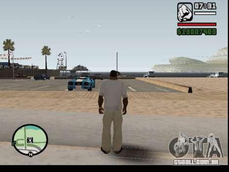 O seqüestro de carros para GTA San Andreas