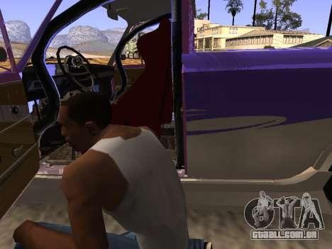 Vaz 2102 divertido DRFT para vista lateral GTA San Andreas