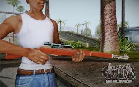 M1 Garand para GTA San Andreas segunda tela